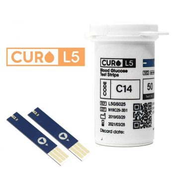 curo l5 blood cholesterol test kit at home testing meter strips rh curofit com home test for concussion